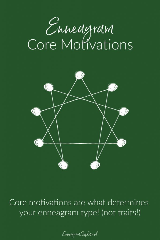 Enneagram Core Motivations