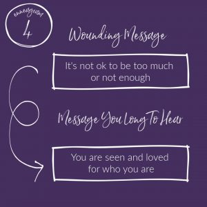 """it's not ok to be too much or not enough"" - Wounding Messages of Each Enneagram Type"