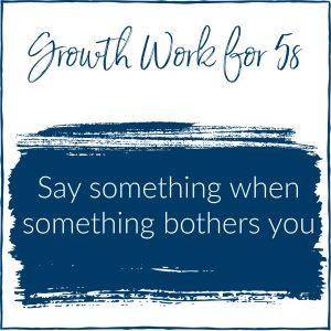 growth thru conflict 5